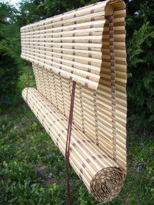 Hervorragend Bambusrollo nach Maß, jalousien, raffrollo, verdunkelungsrollo YD82